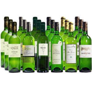 Probierpaket 18 x Bordeaux Weißwein