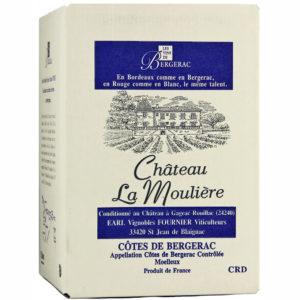 Château La Moulière Moelleux Weißwein BIB