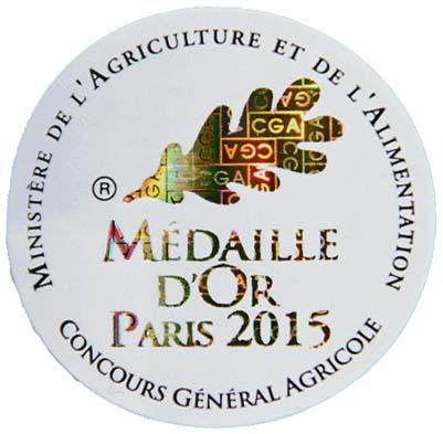 Goldmedaille für 2014er EDM Château La Grande Metairie