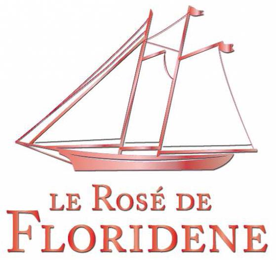 Le Rosé de Floridene Logo